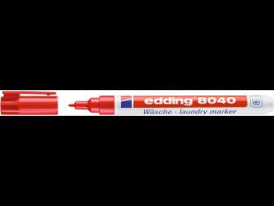 edding Wäschemarker 8040 rot Rundspitze 1mm