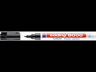 edding Tiefkühlmarker 8000 ORG schwarz Rundspitze 1mm