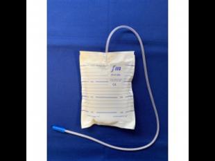 Urinbeutel mit Rücklaufventil