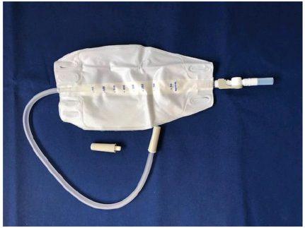 Pahsco-Beinbeutel, steril, mit Klapp-Ablauf-System