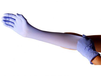 "Handschuhe Nitril ""Sensilind"", blau"