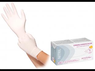 "Handschuhe Nitril ""Sensilind"", weiss"
