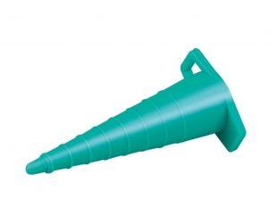 Katheterstopfen universal, grün, steril verpackt, für Durchmesser 5 - 13 cm