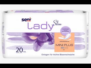 Einlagen Seni Lady Micro 18,5 x 7cm Saugstärke 60 ml für leichte Inkontinenz