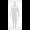 Besucherkittel PP-Vlies, Med-Comfort, Grösse XL, weiss, 112 cm lang,
