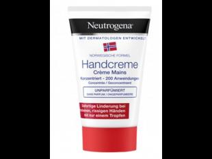 Neutrogena Handcreme, 50 ml, unparfumiert, gegen rissige und trockene