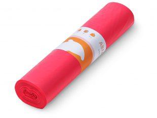 Tapira Abfallsäcke LDPE 70 lt, 57.5 x 100 cm, 37 my, rot
