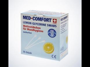 Wattestäbchen Lemon für die Mundhygiene, Med Comfort