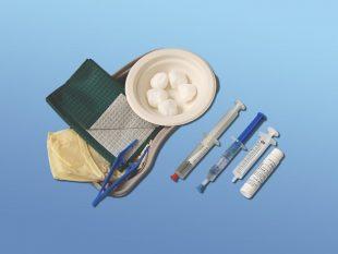 Katheterset Typ 181, 10 ml steriles Wasser