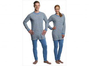 Pflegeoverall Suprima in modischer Pyjama-Optik