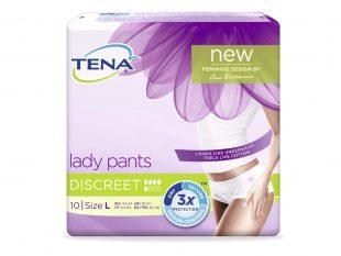 TENA Lady Pants Discreet L, Passend für Hüftumfang 95 - 125 cm