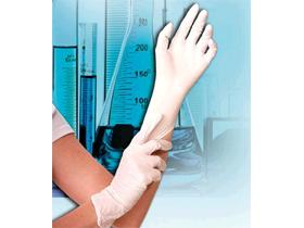 Nitril-Handschuhe SAFE PREMIUM Grösse M, weiss, puderfrei, Länge 24 cm