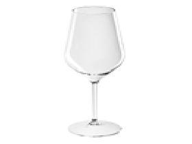 Weinglas mehrweg, transparent Inhalt 470 cc aus Kunststoff