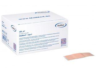 Injektionspflaster, 1 cm x 4 cm, hautfarbig, hypoallergen