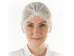 Damenhauben aus PP-Vliesstoff