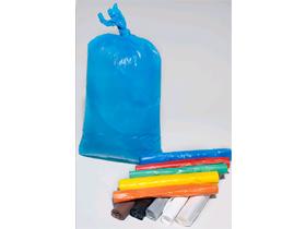 Wäschesack blau HDPE 120 - 130 Liter 470/130 x 1270 mm, umweltfreundlich