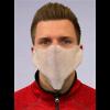 Universalschutzmaske aus PP-Vlies weiss, dient als leichter Nasen-Mundschutz