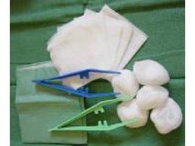 Verbandsset No. 10, steril, 3-teilige Blisterpackung, enthält: