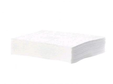 Taskisum Einweg-Microfasertuch,weiss, 17 x 18.5 cm