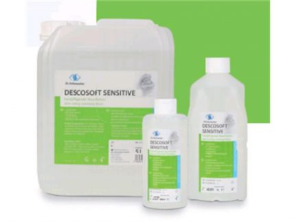 Hände- und Hautreinigung, Descosoft Sensitiv, 5 Liter Kanister