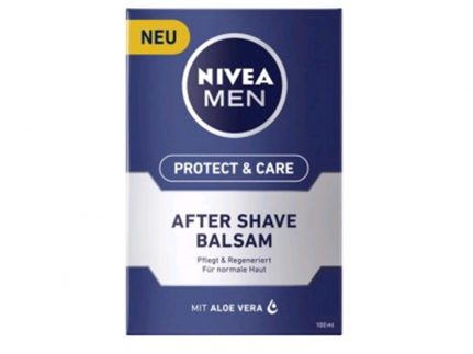 Nivea After Shave 100 ml, Milder Balsam, mit Aloe Vera
