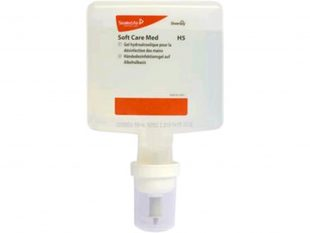 Handdesinfektion Soft Care MED H5 IC, 4 x 1.3 L Flasche