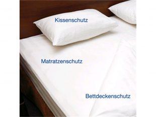 Hygiene Matratzenschutzhülle aus PU, 90 x 200 x 12 cm, mit Reissverschluss