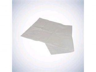 Schutzservietten 37 x 66 cm, mit Tasche 2-lagig, weiss, Tissuepapier 22 gm2 mit