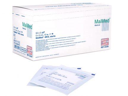 Mull-Schlitzkompressen MaiMed steril