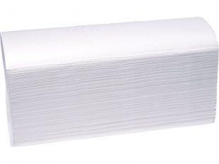 Falthandtücher Prestige hochweiss Z-Falz, 100% Zellstoff, 2-lagig,