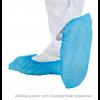 Überschuhe aus Cast Polyethylen (CPE), ca. 25 my, blau, Länge 41 cm,