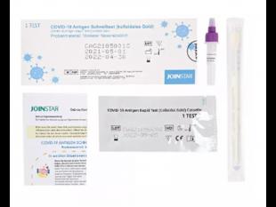 SARS-CoV-2 Joinstar Antigen-Schnelltest, Nasenabstrich, Testergebnis nach
