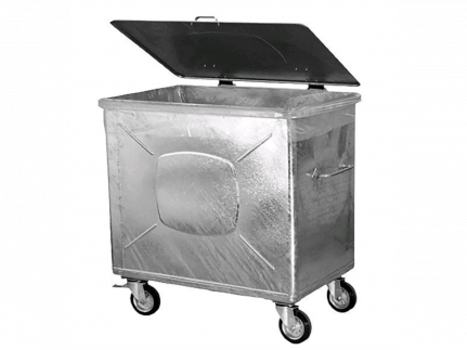 Containereinlagen PE-Light Extra 800 Lt. 30 my, 1260/620/1530 mm, transparent