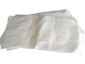 Krepp-Zuschnitte weiss 41 gm2 50 x 50 cm