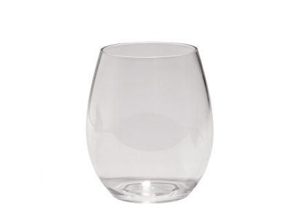 Wasserglas mehrweg, transparent Inhalt 390 cc aus Kunststoff