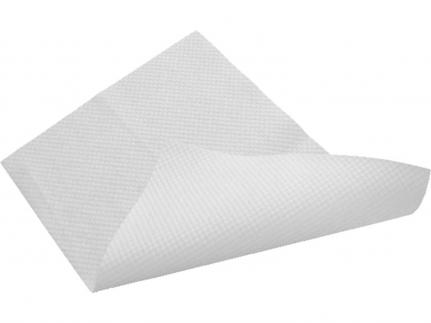 Badevorlagen rutschhemmend Airlaid ca. 55 g/m2, weiss, geprägt