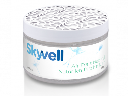 Skyvell Gel Raumerfrischer Dose à 250 g, zur Bekämpfung von hart-