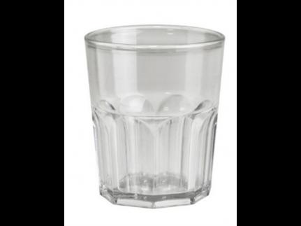 Minidrinkglas mehrweg, transparent Inhalt 160 cc aus Kunststoff