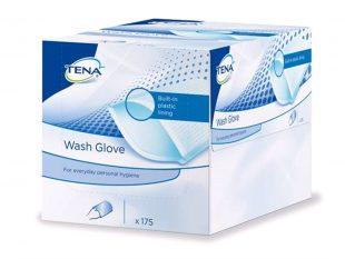 Waschhandschuhe plastifiziert Tena