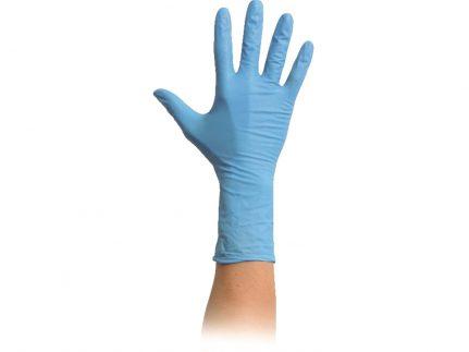 """Handschuhe Nitril """"LG PF"""", Cat. III Grösse L, blau, puderfrei, unsteril"""