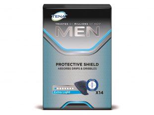 Tena Men Protective Shield Extra Light Diskrete Einlagen für Männer