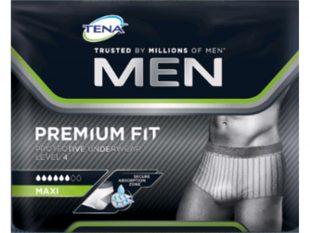 TENA Men Premium Fit Protective Underwear M, für Hüftumfang 75 - 100 cm