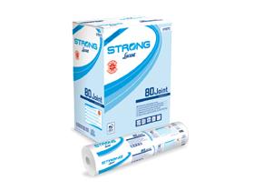 Liegenabdeckung Strong, 100% Zellstoff hochweiss, 2-lagig, 80 lfm, 216 Blatt