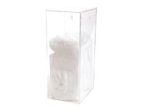 Multispender aus Acrylglas, für alle losen Handschuhe, Hauben und