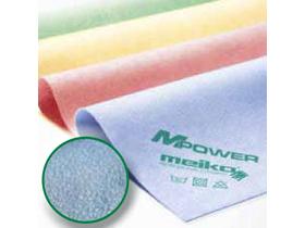 """MPower Microfasertücher, PU-beschichtet, gelb, 40 x 40 cm """"Ledertuch"""", streifen-"""