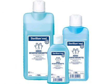 Sterillium med 500 ml Pumpflasche Ethanolisches Händedesinfektions-