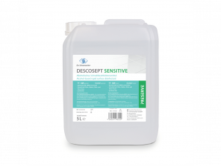 Descosept Sensitiv, alkoholische Flächendesinfektion, 5 Liter Bidon