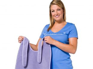 Schutzserviette zum Binden waschbar