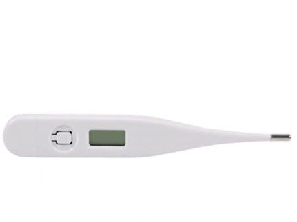 Fieberthermometer, weiss, digital wasserabweisend, 1 Nachkommastellen,