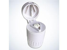 Tablettenmörser MED-Comfort 3 in 1 für normale Becher: Zermahlen, Teilen